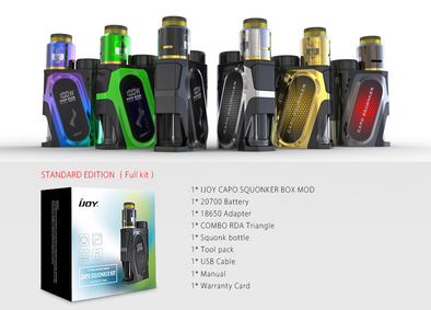 Ijoy Capo Squonker Kit - Mystical Vapes
