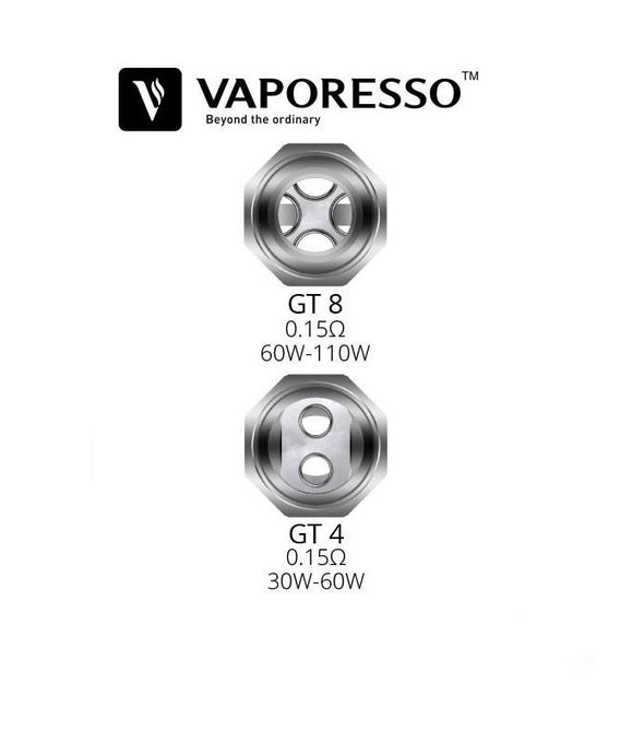 Vaporesso GT Replacement Coils 3 Pack - Mystical Vapes