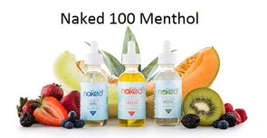 Naked 100 Menthol Eliquid 60ML - Mystical Vapes
