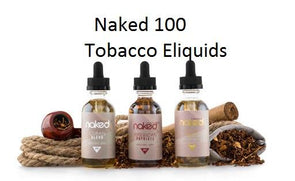 Naked 100 Eliquid 60ML Tobacco Blends