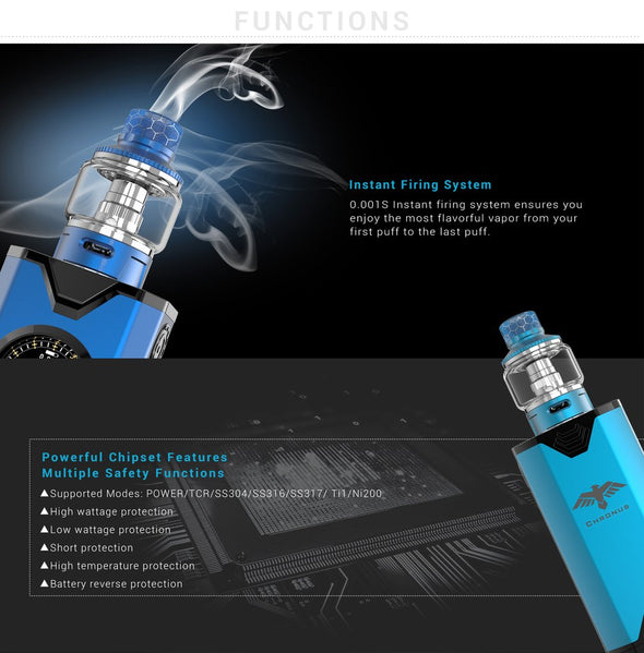 Sigelei Chronus Starter Kit - Mystical Vapes
