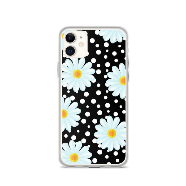 BLUE DAISY IPHONE CASE