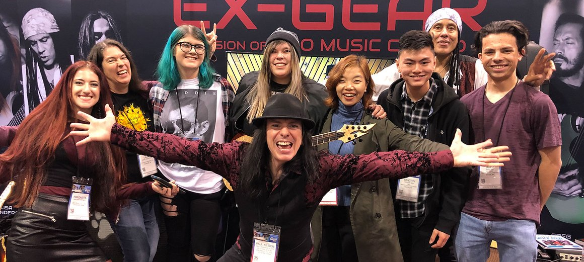 EX-GEAR at NAMM 2020!!