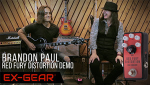 Brandon Paul Demos the Red Fury Distortion!