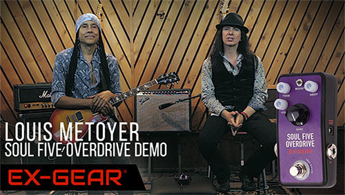 Louis Metoyer Demo of the Soul Five Overdrive!