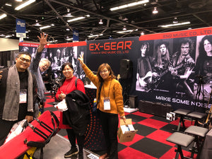 EX-GEAR NAMM 2019 was a SUCCESS!!
