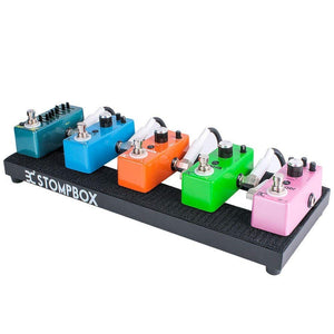 "EX Portable 14"" Mini Guitar Effects Pedal Board"