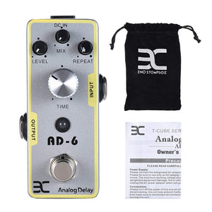 EX AD-6 Analog Delay Mini Guitar Pedals