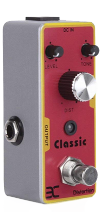 EX Classic Crunch Distortion Micro Pedal