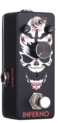 EX-INFERNO MINI METAL DISTORTION PEDAL