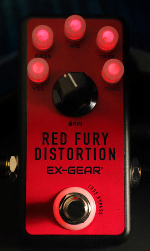 RED FURY DISTORTION