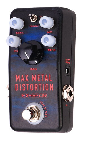 Max Metal Distortion