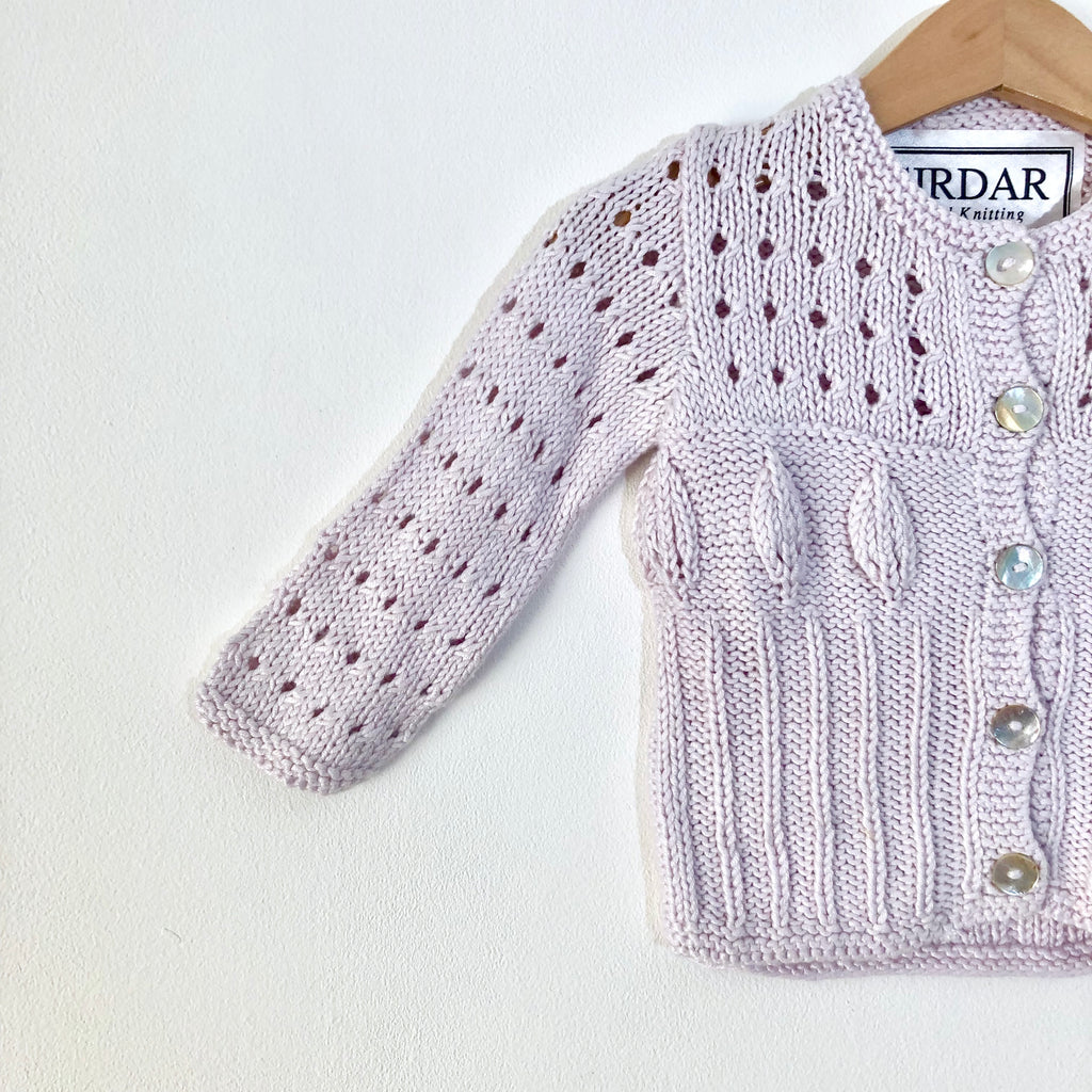 Exquisite Bamboo Hand Knitted Cardigan