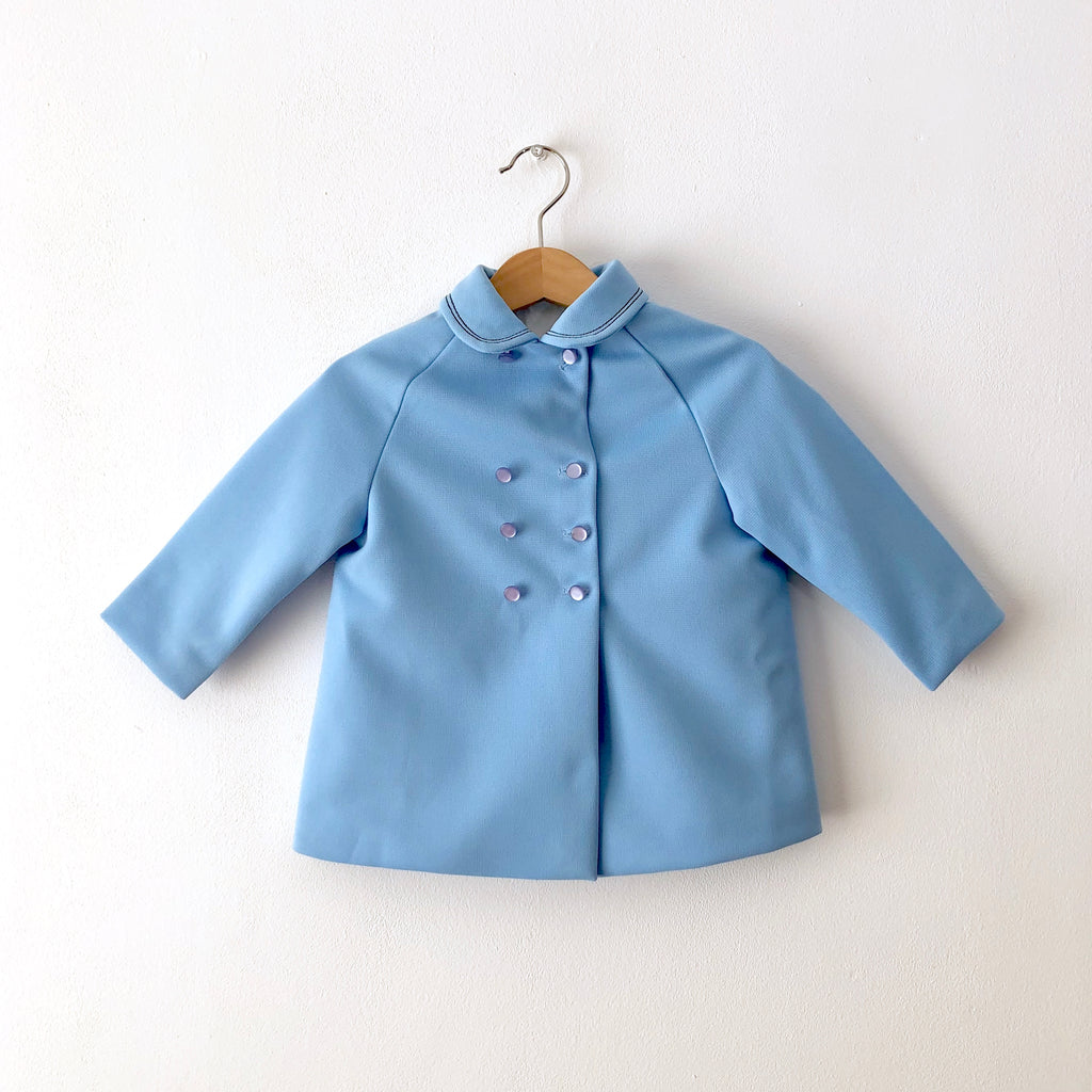 Vintage Peter Pan Blue Coat