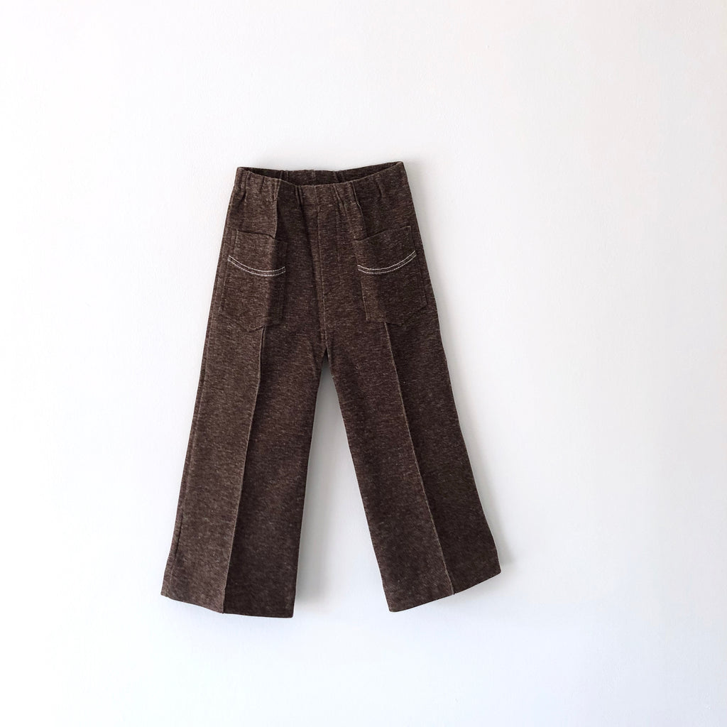Brown Vintage Danish Marl Trouser Suit