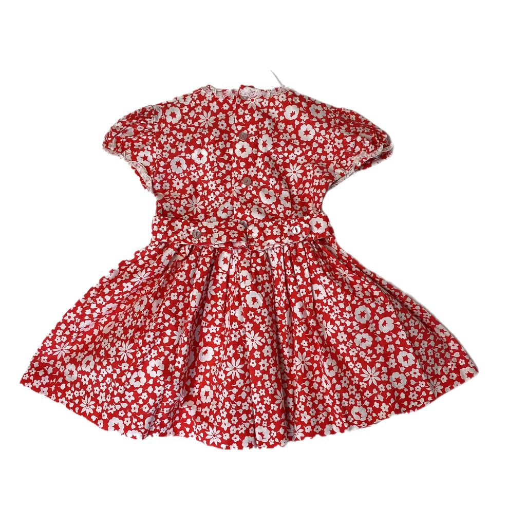 Happy Flowers Baby Dress