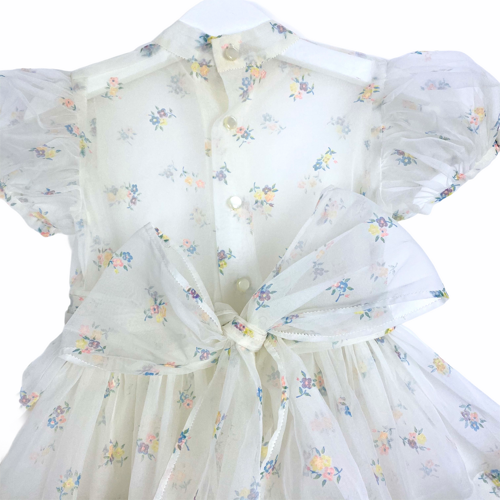 Perfect Vintage Baby Tulle Dress