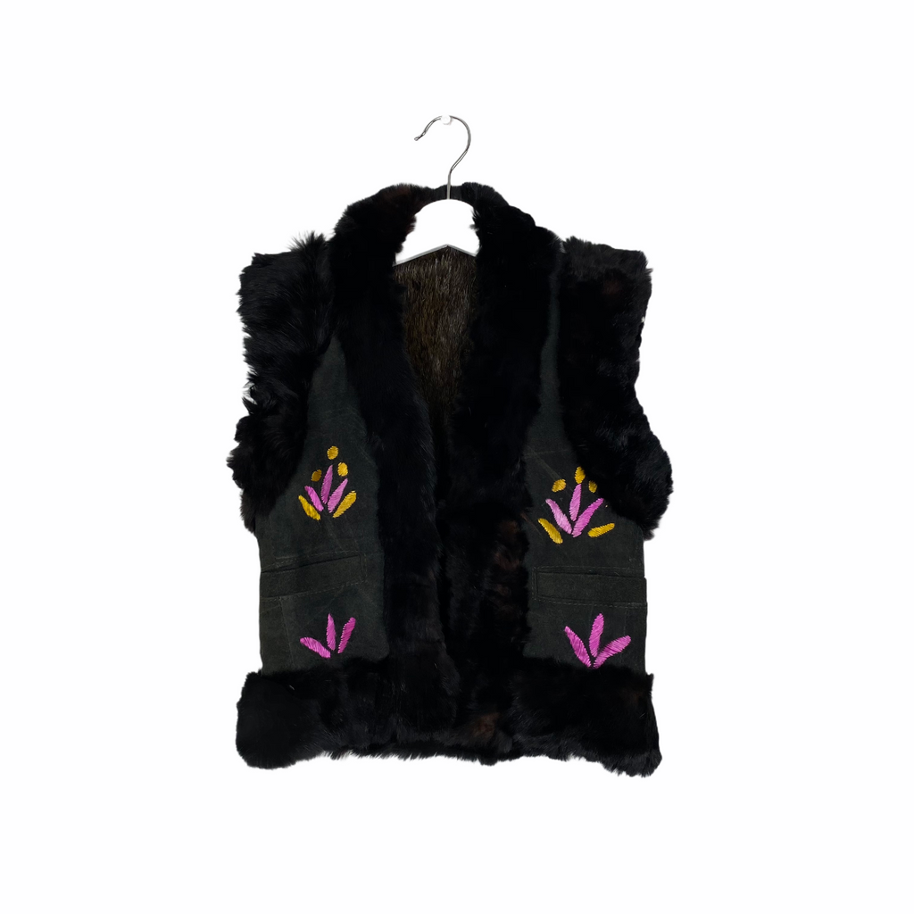 Beautiful Warm Charcoal Gilet