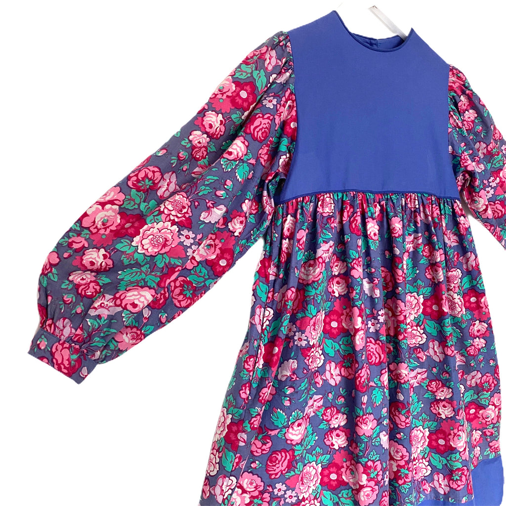 Beautiful Vintage Laura Ashley Floral Smock Dress