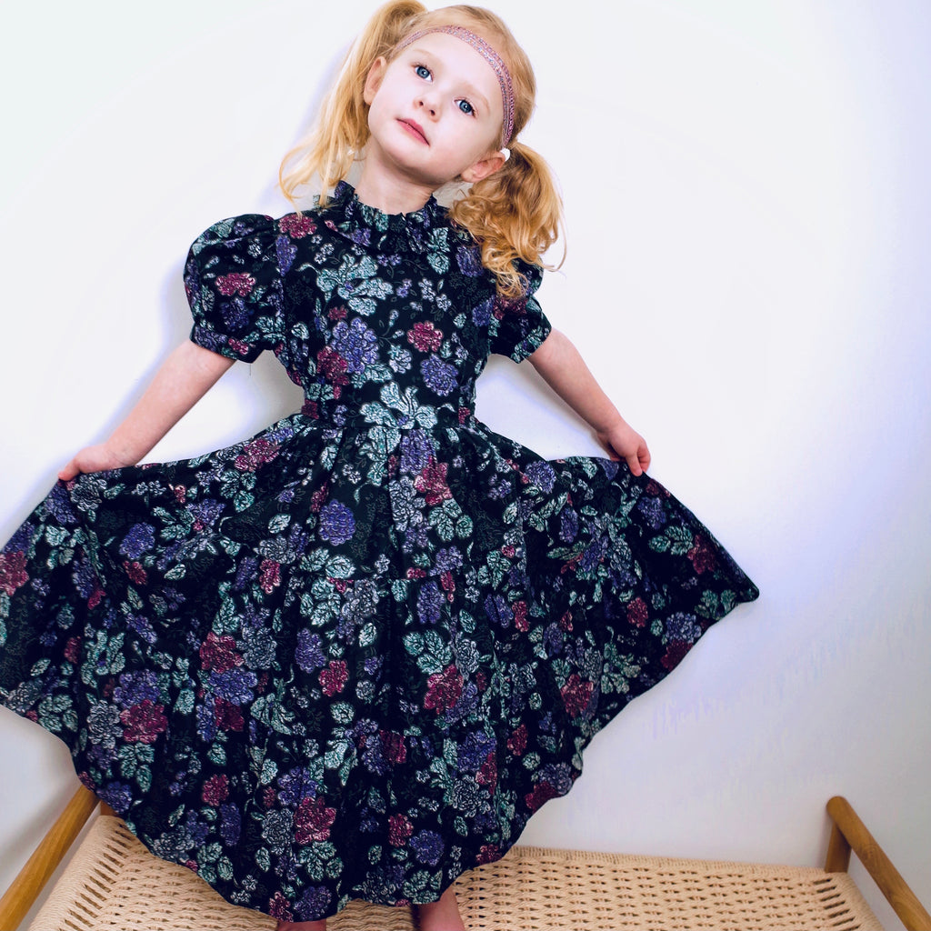 Gorgeous Vintage Laura Ashley Tiered Dress