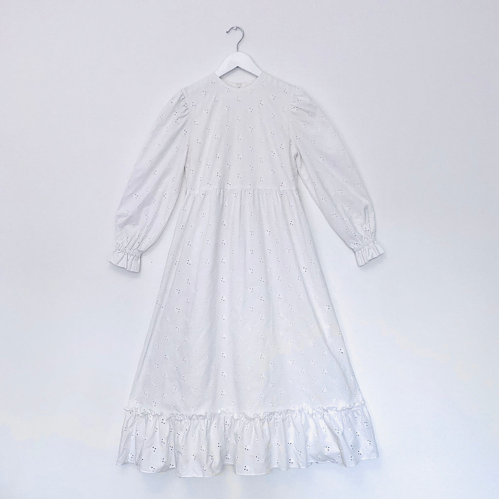Spectacular Broderie Anglaise Dress