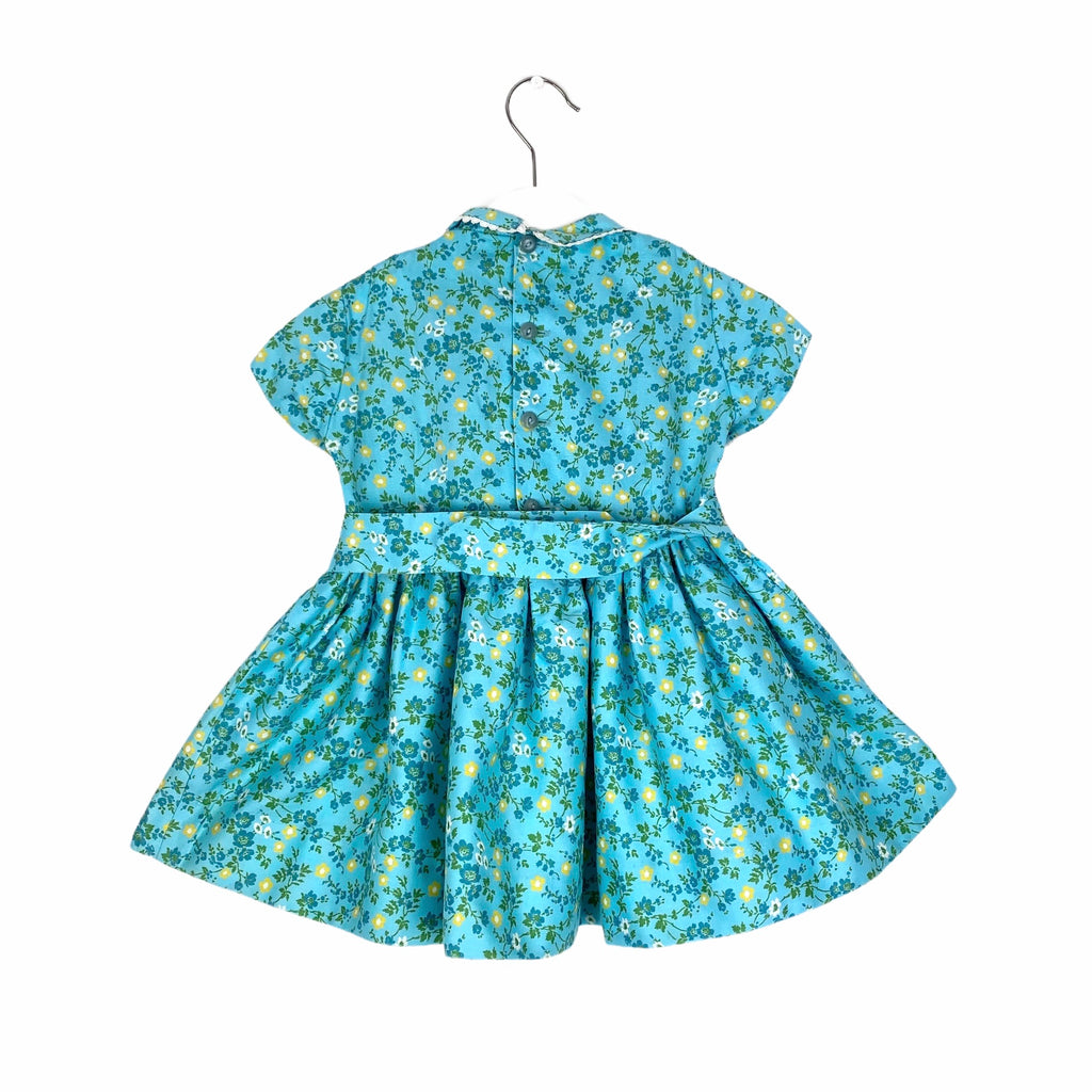 Exquisite Springtime Vintage Baby Dress