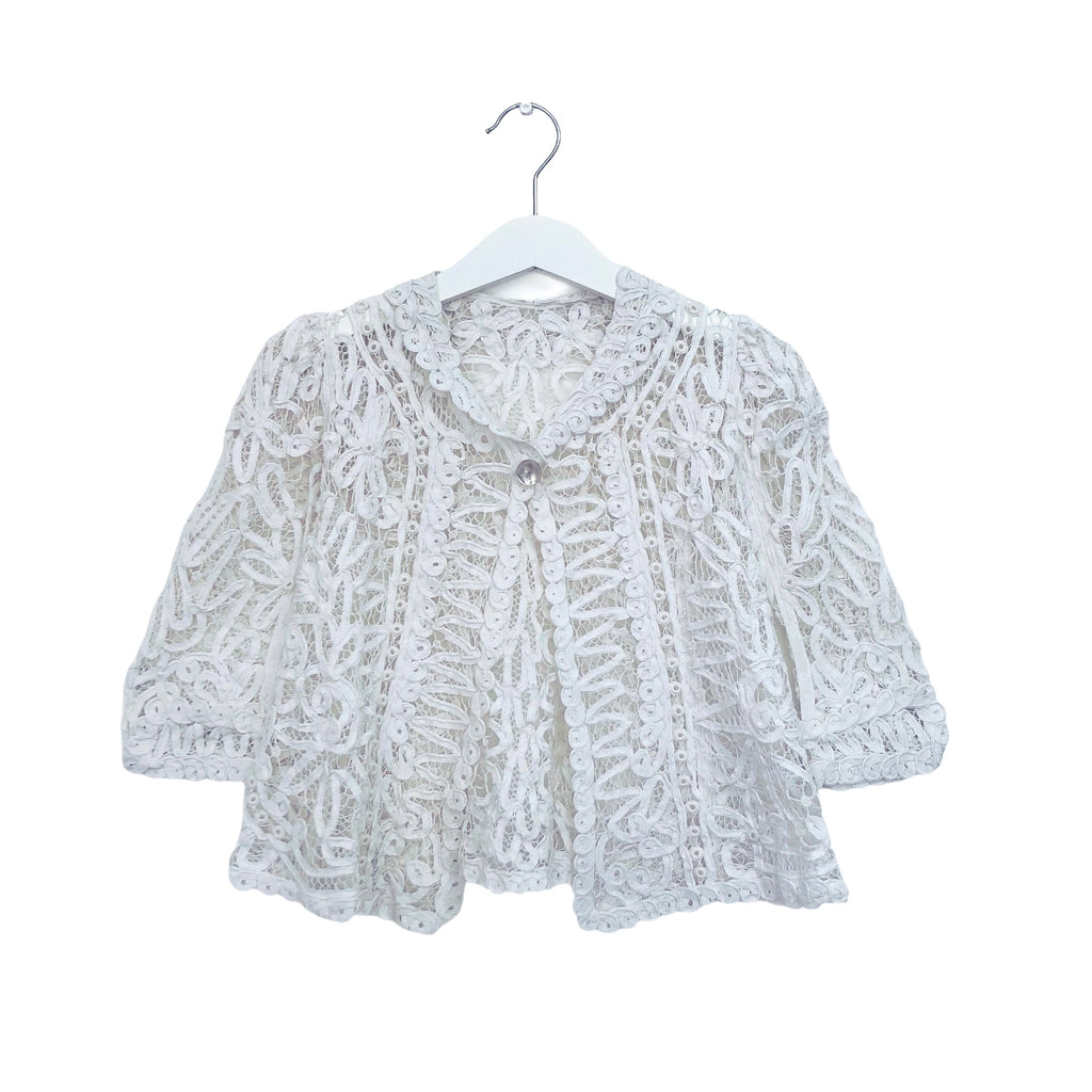 Incredible Vintage Lace Jacket