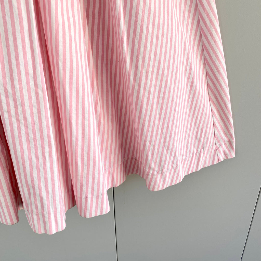 Women's Vintage Laura Ashley Candy Stripe Dress