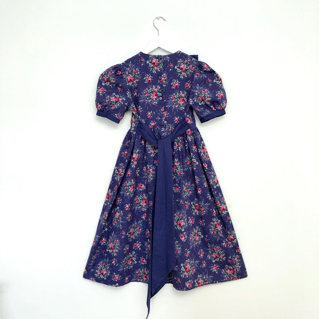Gorgeous Lavender and Pink Vintage Laura Ashley Party Dress