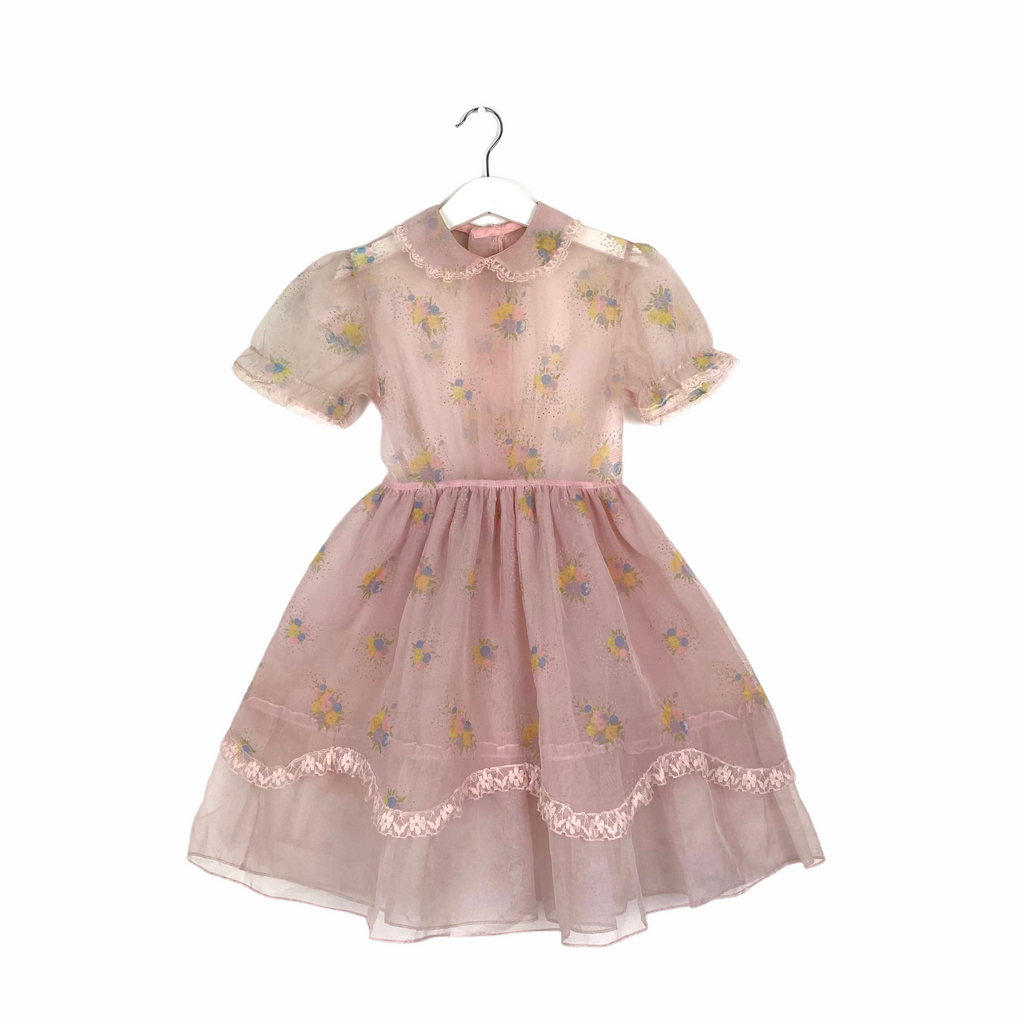 Vintage Sugar Pink Tulle Dress