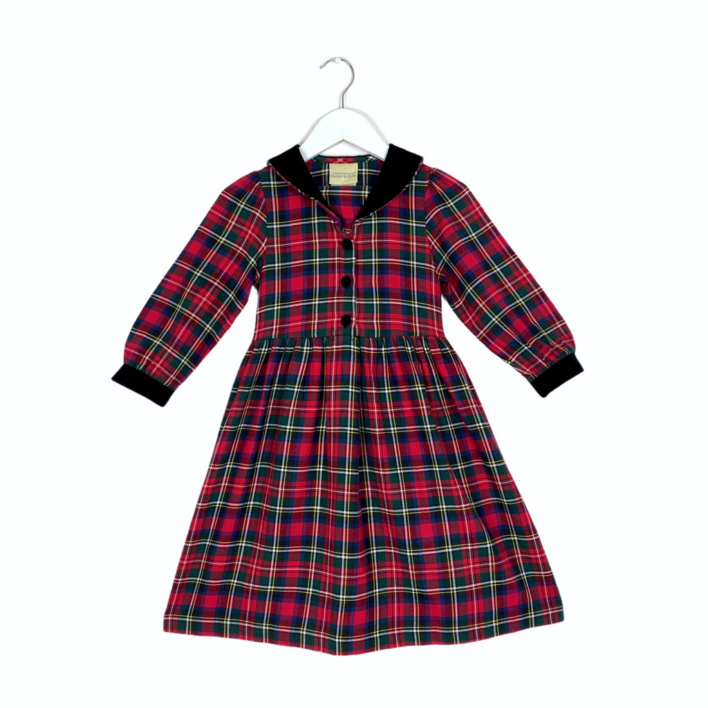 Vintage Laura Ashley Plaid Dress
