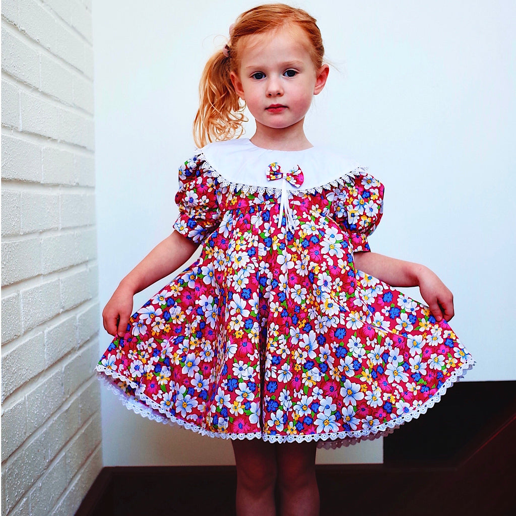 Sweetest Flower Fairy Dress Age 3-4