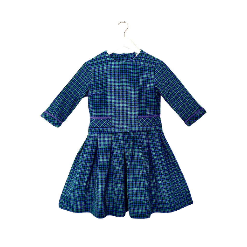 Perfect Vintage Plaid  Dress by St Michael