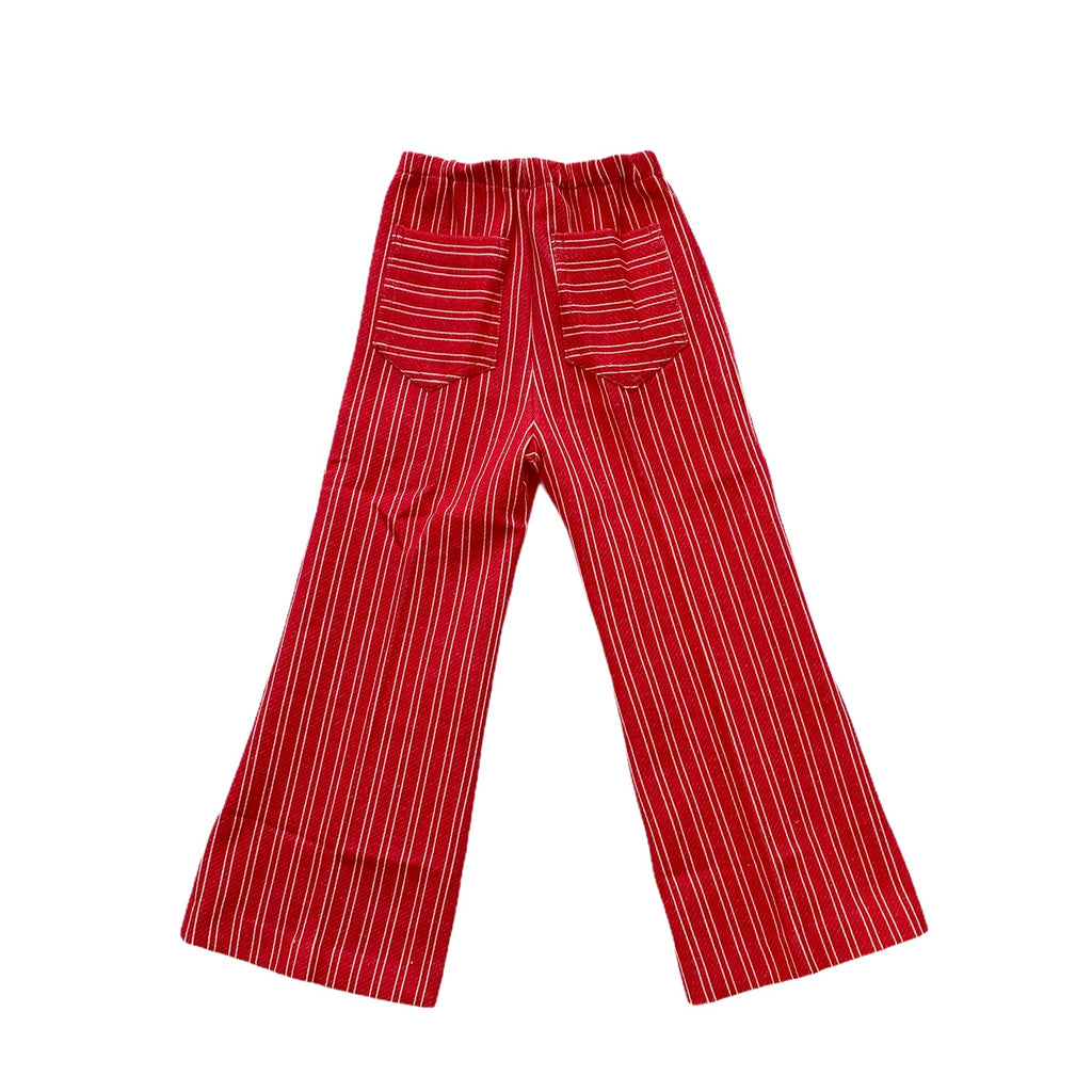 Vintage Danish Red Railroad Trousers