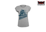 Biker Dog Ladies T-Shirt