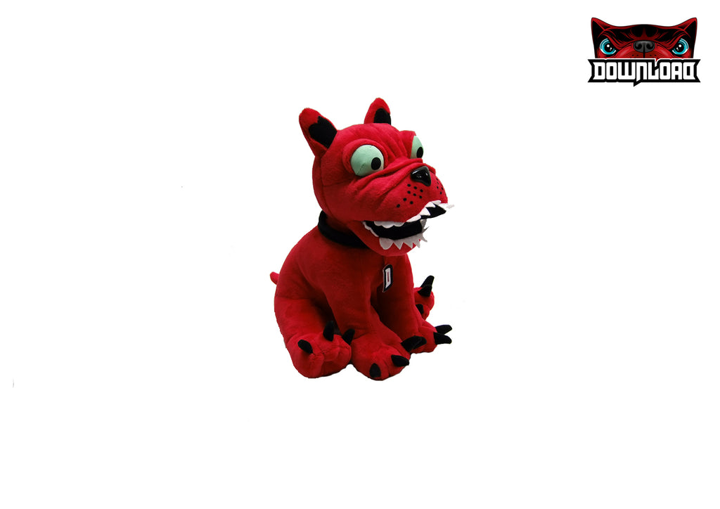 Download Sitting Plush Dog