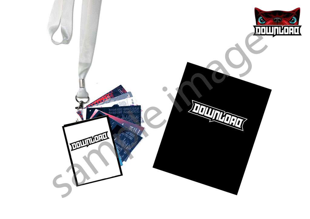 Download 2019 Pre-Order Lanyard Programme Set