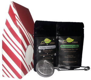 Loose Leaf Tea Gift Pack - Mint Stripe