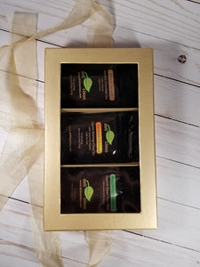 Loose Leaf Tea Gift Set - Golden Swirl - Side View