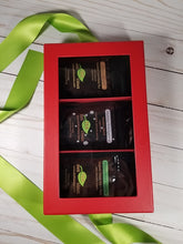 Load image into Gallery viewer, Loose Leaf Tea Gift Set - Happy Holidays - Side View