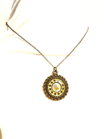 "Steampunk ""Time Ticks"" Necklace"