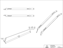 Load image into Gallery viewer, Long Seat Stay Attachment Bracket Kit (A-SSB-310)