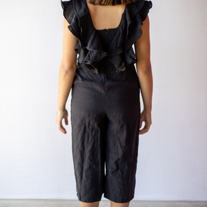 Sophie Jumpsuit from online clothing label Bliss + Chaos, showing back