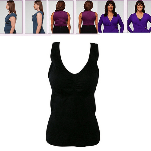 Women's Magic Slimming Undershirt - Slims down instantly in any outfit - Clearance