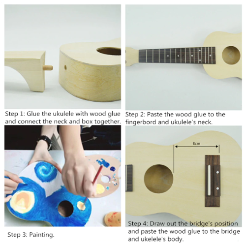 DIY Ukulele Kit
