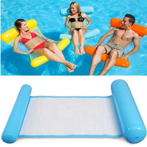 #1 Foldable Inflatable Floating Water Bed
