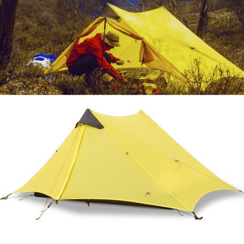 #1 Ultralight All-Season Tent - Portable & Lightweight