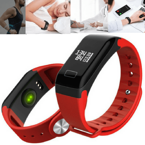 Blood Pressure Smart Wristband - Heart Rate, Blood Oxygen, Sleep Tracker
