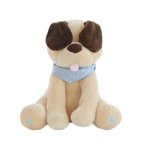 The Original Peek-a-Boo Puppy Toy - Singing Dog