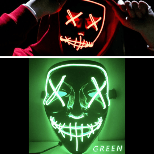 HOT Purge LED Mask - Halloween Mask